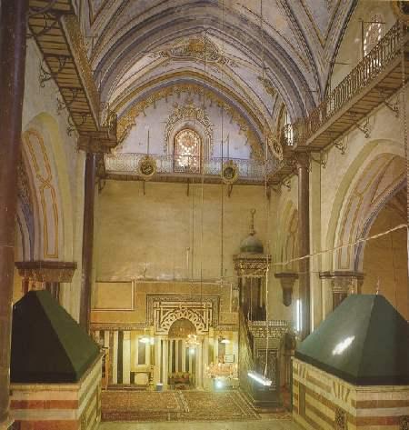 Hz. İbrahim Mescidi Mihrabı